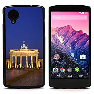 Graphic4You Berlin Germany Postcard Design Hard Case Cover for LG Nexus 5