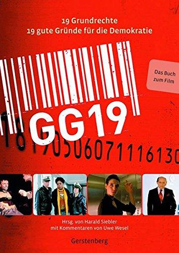GG 19: 19 Grundrechte 19 gute Gründe für die Demokratie