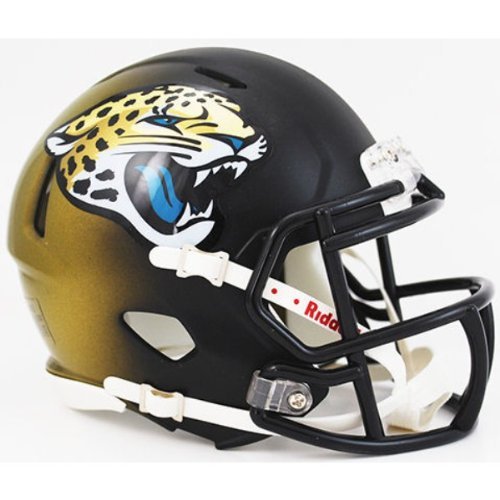 JACKSONVILLE JAGUARS 2013 Riddell Revolution SPEED Mini Football Helmet NFL (Jacksonville Helmet Jaguars Football)