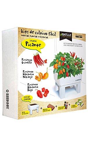 Huerto Urbano - Seed Box Picante - Batlle Semillas Batlle 160123UNID