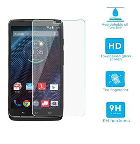 Teliqi 9h Premium Tempered Glass Ultra Clear HD Screen Protector for Motorola Droid Turbo XT1254