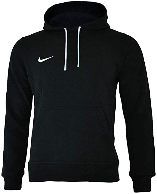 45a44c85 Nike Men's Club 19 Hoodie Black White 010, XX-Large (Size: 2XL ...