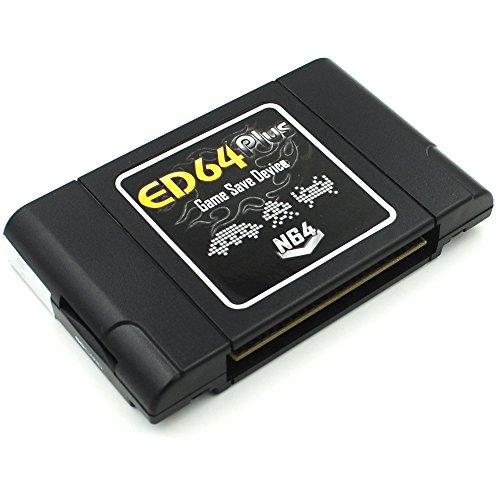 Kingsoo® ED64plus Game Save Device Converter Enhanced NTSC ( Japan / U.S ) Version (Sram Card)