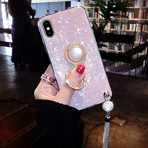 Sparkle CaseLuxury Pearly Pattern Shell Cover Back Case Bontoujour Glitter With Xs Iphone Soft Bling Crystal Tpu Lustre Xiphone l5uTKc3FJ1