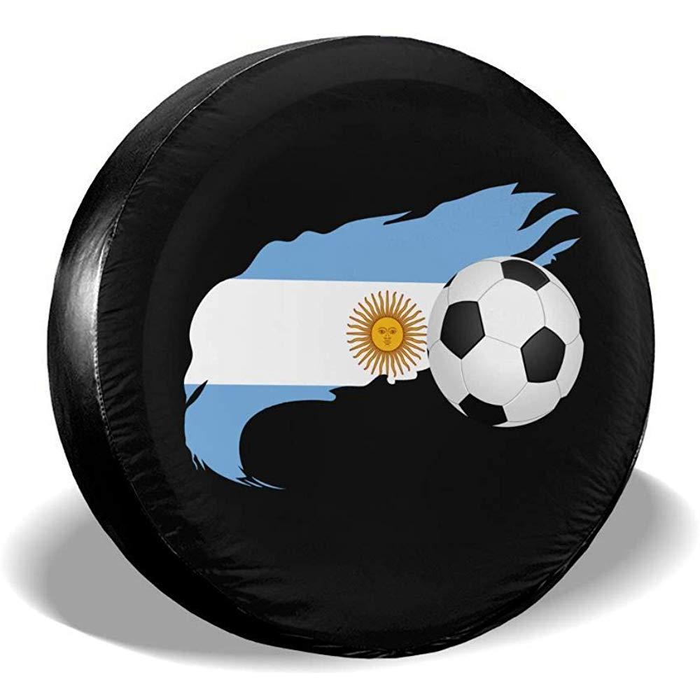 Tire Protector,Balón De Fútbol con Bandera Argentina Cubiertas De ...