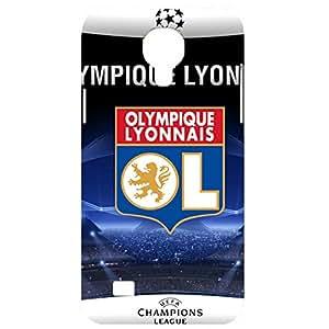 Grant Stadium Printed UEFA Champions League Olympique Lyonnais Football Club Phone Case For Samsung Galaxy S4 Mini