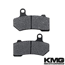 2008-2011 Harley FLHRC Road King Classic Rear Carbon Kevlar Organic NAO Disc Brake Pads Set