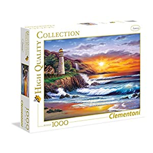 Clementoni Lighthouse At Sunset High Quality Collection Puzzle 1000 Pezzi 39368