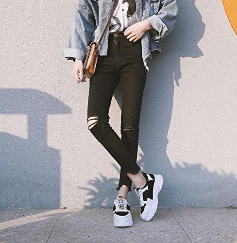 Sport Confort Chaussures Chaussures De Femme Confortables Semelles Talon Noir Femmes Chaussures Beautyjourney Chaussures Casual Femme Chaussures Chaussures 6xOqOwPgvz
