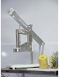 Healix Enterprises E Zcut II Table Top Pineapple Corer And Peeler 10 L X 15 W X 19 1 2 H