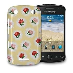 Phone Case BlackBerry Curve 9380 - Kitschy Roses Protective Hardshell