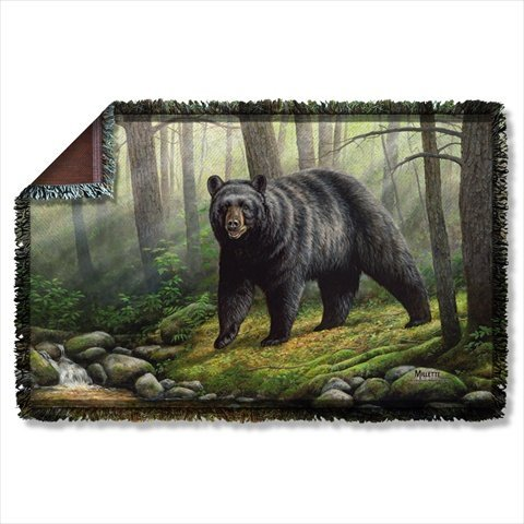 WILD WINGS WOODLAND MORNING 2 Sublimation Woven Throw