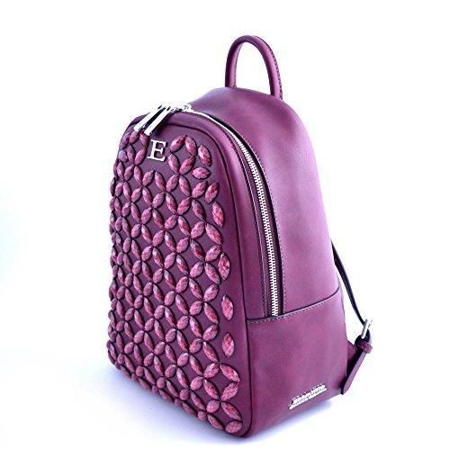 Ermanno Scervino - Bolso mochila  para mujer rojo rojo taglia unica