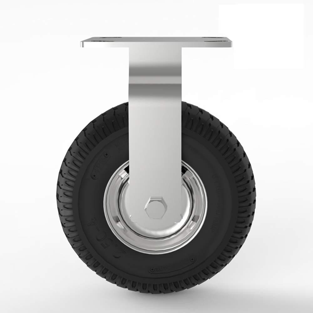 Diametro 200 Mm Ruota per carriola Antiscivolo per carrello a mano Carrello per attrezzi Carrello spazzaneve a 8 pollici Raggio di rotazione170 Ruota universale con carrello a ruote Freno Ruota Mm
