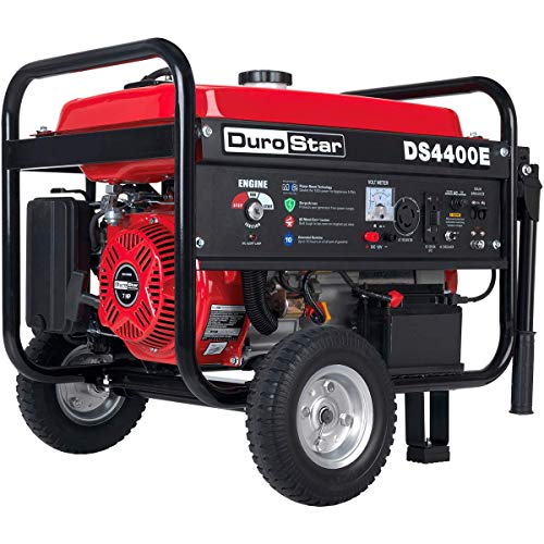 Durostar DS4400E Gas Powered Electric Start Portable Generator