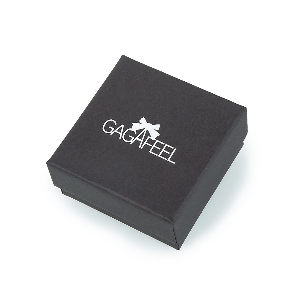 Gagafeel His Only Her One Stainless Steel Chain Couple Bracelet Gift Set for Lover (His Beauty Her Beast)