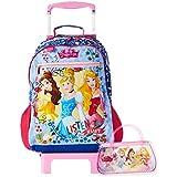 Mala Escolar G com Rodinhas, Dermiwil, Disney Princesas, 52107