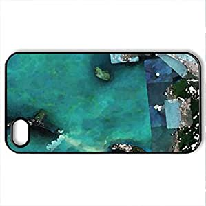 Ancient Bridge in South India 1.7 Millions years old built by Lord Rama in the Epic Ramayan - Case Cover for iPhone 4 and 4s (Ancient Series, Watercolor style, Black)