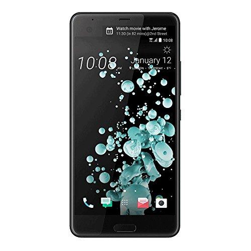 "HTC U Ultra Factory Unlocked Phone - 5.7"" Screen - 64GB - Black (International Version - No Warranty)"