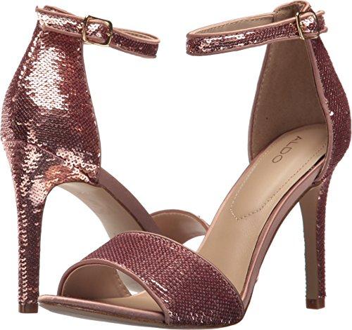 Aldo Women's Fiolla Dress Sandal, Light Pink, 7.5 B - Stiletto Aldo