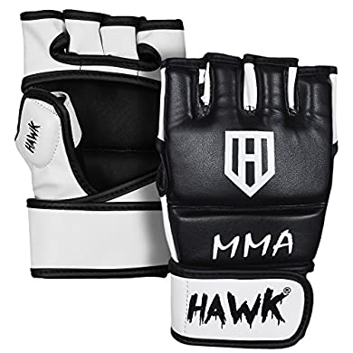 HAWK-MMA-Gloves-Grappling-Gloves-Martial-Arts-Sparring-Gloves-Punching-Bag-Cage-Fight-Gloves-Mitts-UFC-Combat-Training-Gloves