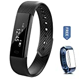 Fitness Tracker Watch - Aeifond Waterproof Sweatproof Activity Tracker Sports Smart Bracelet Wristband with Slim Touch Screen Pedometer Sleep Monitor Call Message Reminder for Android iOS