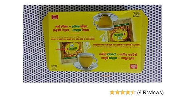 Amazon Com 50 X Packets Ayurvedic Herbal Ceylon Tea Natural Drink