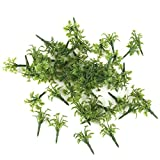 Best GENERIC Green Leaves - 50pcs Scenery Landscape Model Grass with Crushed Leaves Review