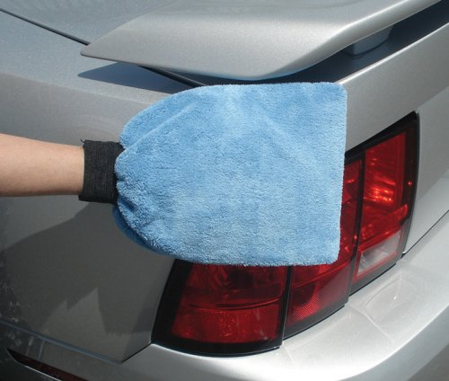 Viking Car Care 835000 Long Pile Microfiber Wash Mitt, Colors May Vary