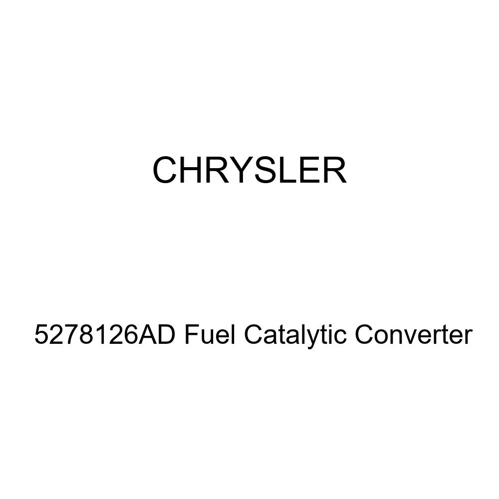 Genuine Chrysler 5278126AD Fuel Catalytic Converter