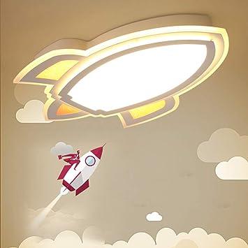 LLZXDD Plafón Lámpara De Techo Led De Dibujos Animados Niños ...