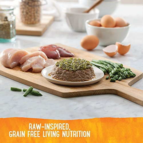 Image of Wellness Trufood Tasty Pairings Natural Grain Free  Wet Raw Dog Food, Chicken, Green Beans & Chicken Liver, 5-Ounce Cup (Pack Of 24)