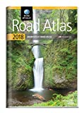 us and canada map - 2018 Rand McNally Road Atlas with Protective Vinyl Cover
