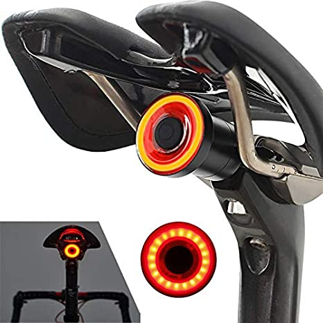Desconocido XANES STL07 Luz Trasera Inteligente para Bicicleta ...