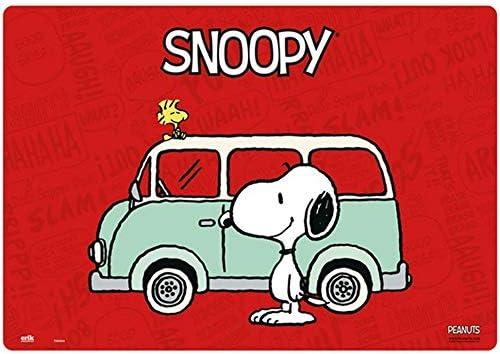empireposter Snoopy - Bulli - Schreibtischunterlage ca. 35x50 cm, abwischbar