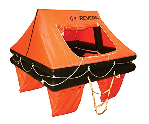 Revere Coastal Commander No Cradle 2.0 6P Life Raft Container ()