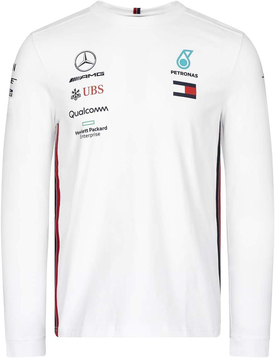 MERCEDES AMG PETRONAS Motorsport 2019 F1/™ Mens Long Sleeve Driver T-Shirt