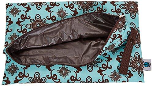 Amazon.com : Enrolle abajo Wet bolsa de pañales, Aqua Swirl, Grande : Baby
