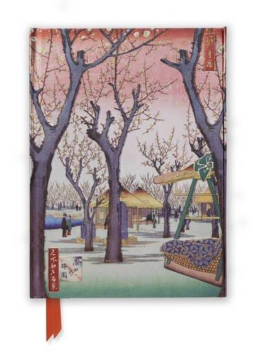 Hiroshige's Plum Garden (Foiled Journal) (Flame Tree Notebooks) -