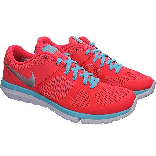 rosso 2014 Run Da Azzuro Donna Corsa Flex Nike Wmns Scarpe waZC7aq