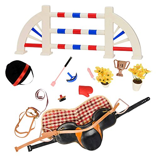 Set Equestrian (Our Generation Equestrian Horse Doll Set for 18 inch dolls)