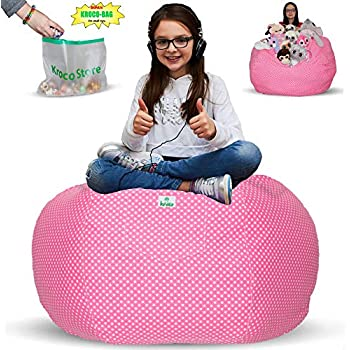 Amazoncom Creative Qt Stuffed Animal Storage Bean Bag Chair