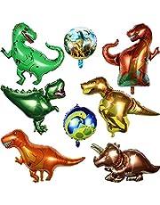 8 قطع من بالونات ديناصور فويل من القصدير من بينغكيوت بالونات هليوم الميلار لحفلات الزفاف وأعياد الميلاد وحفلات التخرج والزفاف والاستحمام بنمط الغابة وزينة الحفلات