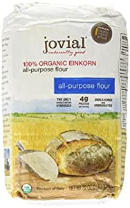 Jovial 100% Organic Einkorn All-Purpose Flour -- 2 lbs - 2 pc