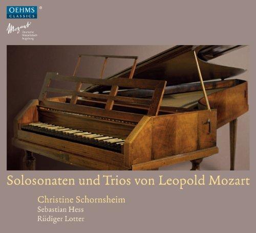 Solosonaten und Trios von Leopold Mozart