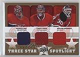 Carey Price; Martin Brodeur; Patrick Roy (Hockey Card) 2008-09 Upper Deck Trilogy - Three Star Spotlight Jerseys #3S-RBP