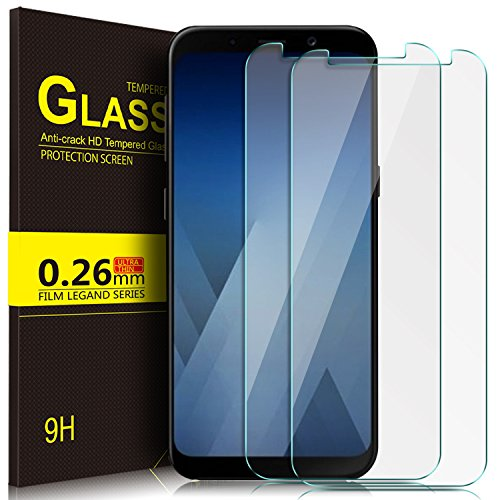 Tempered Glass for Samsung Galaxy A8 (Clear) - 5