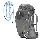 Cheap Gregory Men's Contour 50 Backpack Graphite Grey w/ Hydration Bladder Small