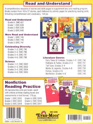 Amazon.com: Read and Understand Science, Grades 4-6+ ...