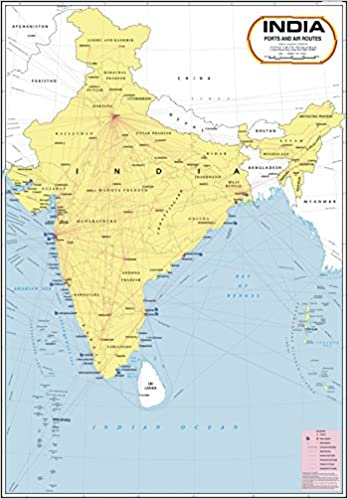 Buy india ports air routes map book online at low prices in india buy india ports air routes map book online at low prices in india india ports air routes map reviews ratings amazon gumiabroncs Choice Image